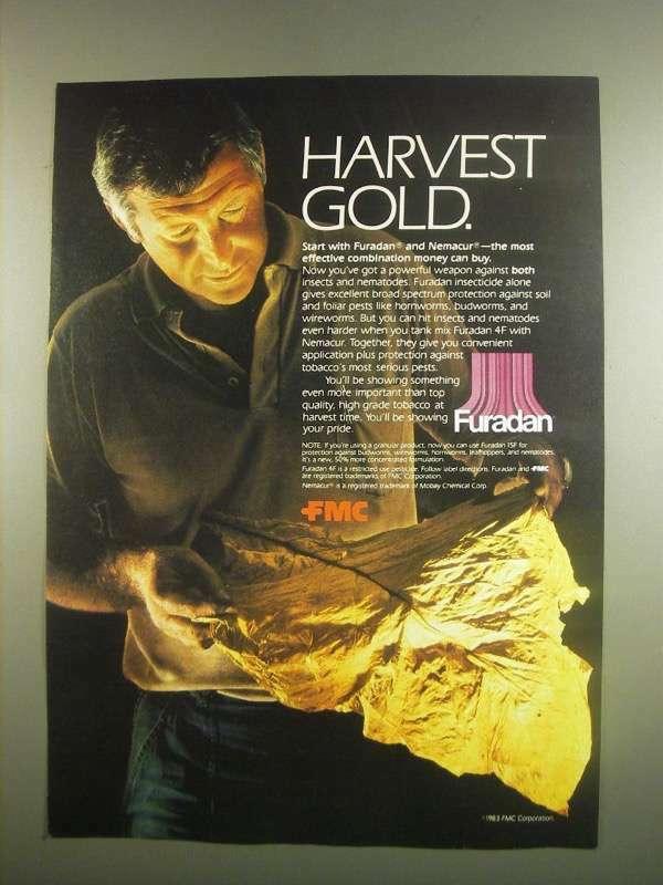 1984 FMC Furadan Ad - Harvest Gold
