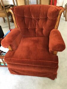 Upholstered Sofa Chair - REDUCED!