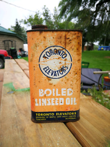 Older Linseed Oil Can