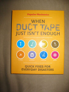 Popular Mechanics When Duct Tape Just Isn't Enough: Quick Fixes