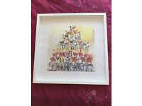 Framed Alex Clark Animal Numbers picture