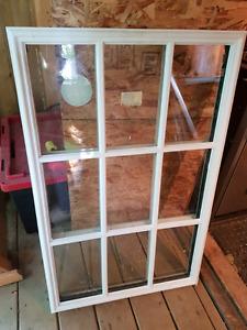 Glass door insert