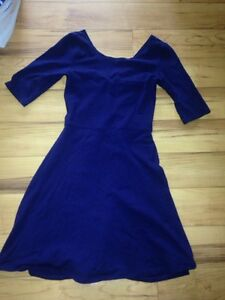 Garage Fit and Flare Cut-Out Dress in Navy Stratford Kitchener Area image 1