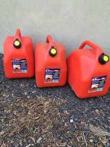 Gas cans/Jerry cans, $10 each