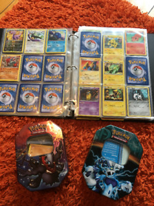 Pokemon Cards with Tins
