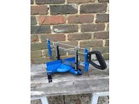 Homebase Mitre Box and Saw used once! Only used once!