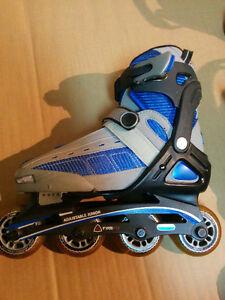 Moving sale!!!  size adjustable junior In-line skates