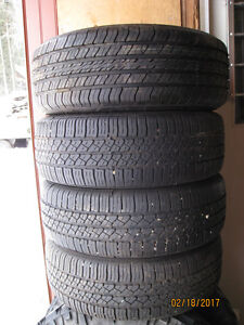 195/60R15 Continental and Michelin tires