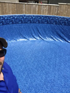** New Pool Liner Installations and Removal of Old Liner **
