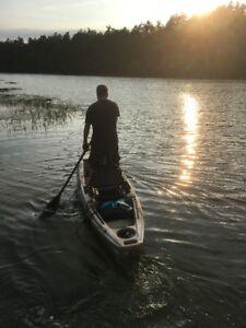 Winner MAVERICK  Rudder steer Fishing Kayak