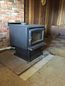 Pacific Summit Wood Stove, Series A, Certified, w/Heater Fan