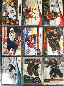 144 Different Star Hockey Cards, Goalies Included (5 cents each)