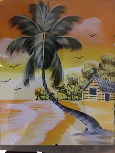 Caribbean canvas paintings Cambridge Kitchener Area image 2
