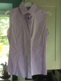 Equetech size 12 Show Shirt