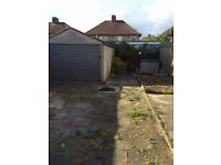 Concrete sectional garage Approx 10 x 15 ft