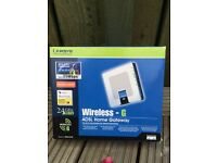 Linksys broadband Router w. All original accessories.
