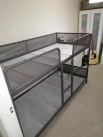 IKEA bunk bed grey