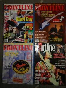 28 Fender Frontline  Magazines from 1987 to 2008 ($3 each)
