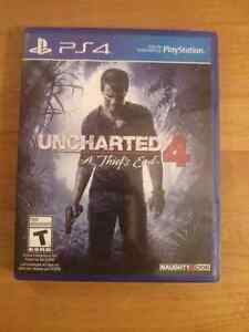 Selling Uncharted 4 - mint - free delivery