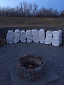 Birch Firewood Bags $35 *Real Pictures/Deliveries/Seasoned Birch Strathcona County Edmonton Area image 5