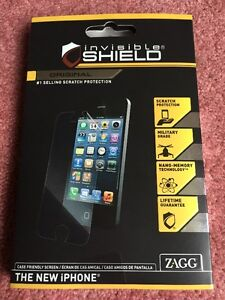 NIB Invisible Shield iphone 5s