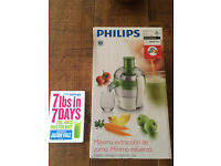 Philips Juicer and Jason Vale 7lbs in 5days bundle