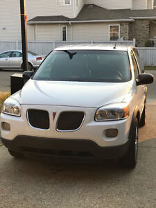 2007 Pontiac Montana Van with remote starter and winter tires.