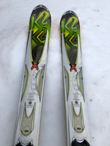 Awesome All Mountain Intermediate Ski and Boots
