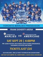 Toronto Marlies to play in Thorold