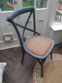 Beautiful wooden bistro chairs