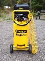 Compresseur 15 gallons, 200 psi, STANLEY, neuf