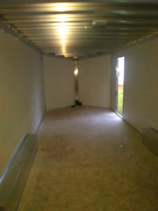 Enclosed 24 foot car trailer