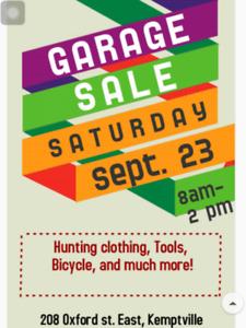 Large Garage Sale