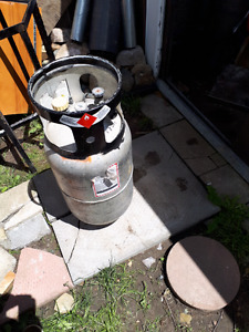 Liquid Propane fuel tank