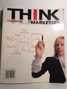 Think Marketing Textbook by Tuckwell West Island Greater Montréal image 1