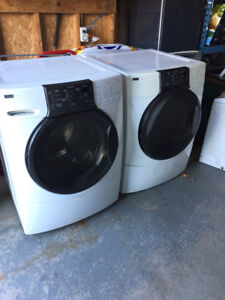 Front load washer & dryer (used)