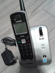 Téléphone sans fil 1 combiné, répondeur digital, Vtech