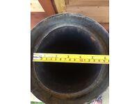 Wood burner insulated flue