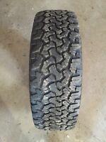 "2 New 20"" BF Goodrich All Terrain Tires 285/65/R20"