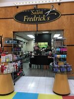 Salon Fredrick's is now hiring!!