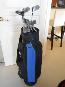 Ladies Golf Set + Bag + Push Cart
