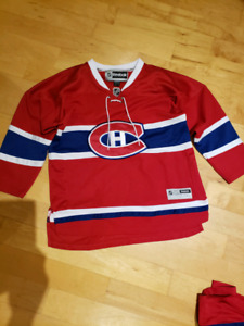 Youth L/XL Montreal Canadians jerseys