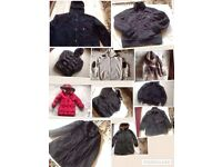 Whole sale mixed jackets around used 100 items per item 50p whole sale