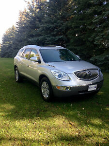 2009 Buick Enclave black cloth SUV, Crossover