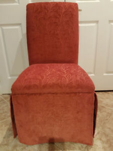 Bombay Upholstered Accent Chairs x2
