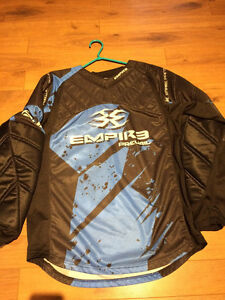 Empire Prevail FT Jersey Blue - Large - Paintball