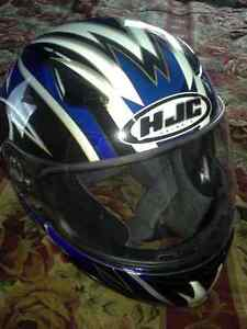Motorcycle jacket and helmets