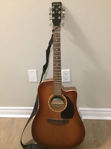 Simon and Patrick Acoustic Guitar with Case