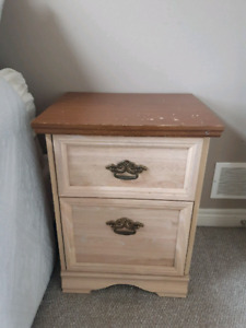 Antique Like Night Table Night Self. Moving must go.