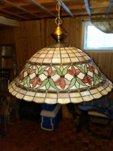 *Hanging Tiffany Lamp*